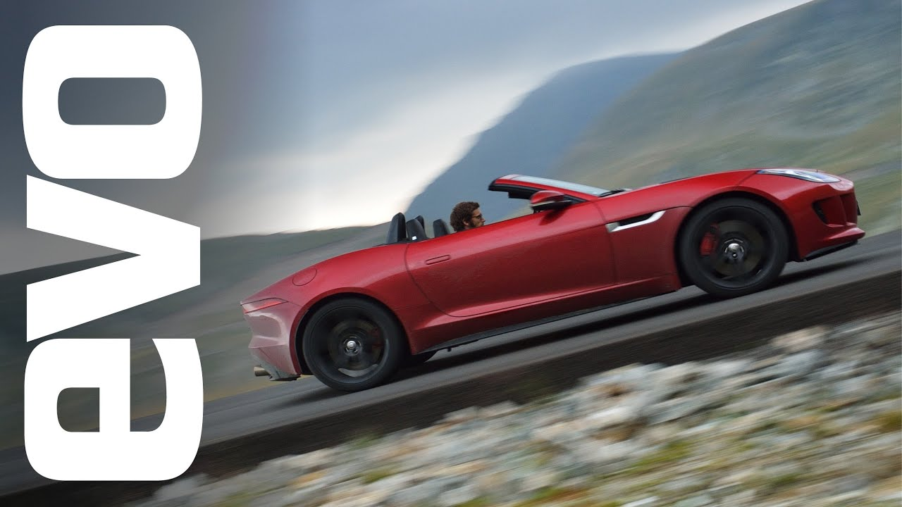 Download The greatest driving road in the world? Jaguar F-type V8 S in Romania | evo