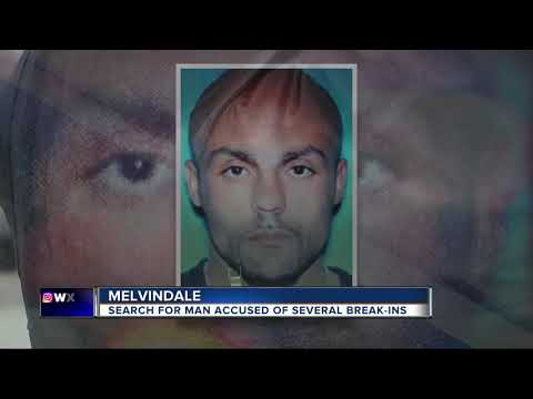 Police search for man accused of several break-ins in Melvindale