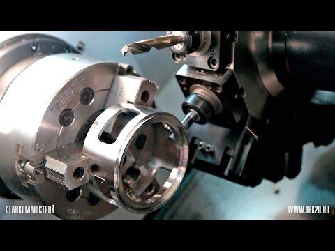 SMEC PL 2500Y обработка с приводным инструментом и осью Y