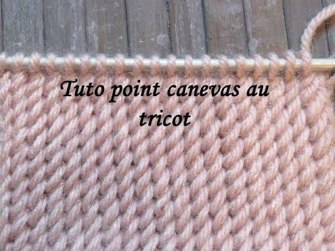 Canvas Stitch Knitting