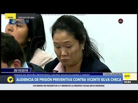 """Jose Domingo Pérez afirmó que Vicente Silva Checa es el asesor """"en la sombra"""" de Keiko Fujimori"""