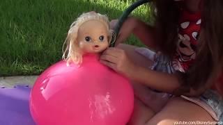 Entrei no Balão Gigante de Água | Bela Bagunça
