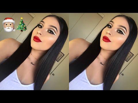Christmas Glam Makeup Tutorial | Jocy Reyes
