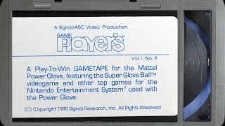 """Game Players Game Tape Vol. 1, No. 7 """"A Boy and His Blob"""" :: VHS (1080p / 60FPS) - VIDEO GAME B-ROLL"""