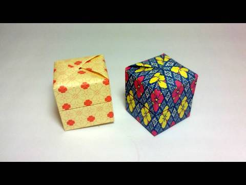 origami pandora s box yami yamauchi   youtube