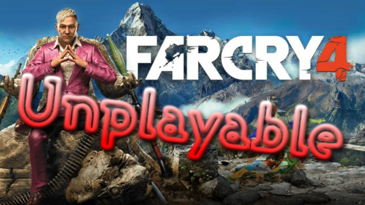 far cry 4 unplayable with surface pro devices and intel hd 4000, hd
