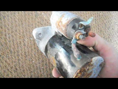 changing a starter on a 2009 hyundai accent