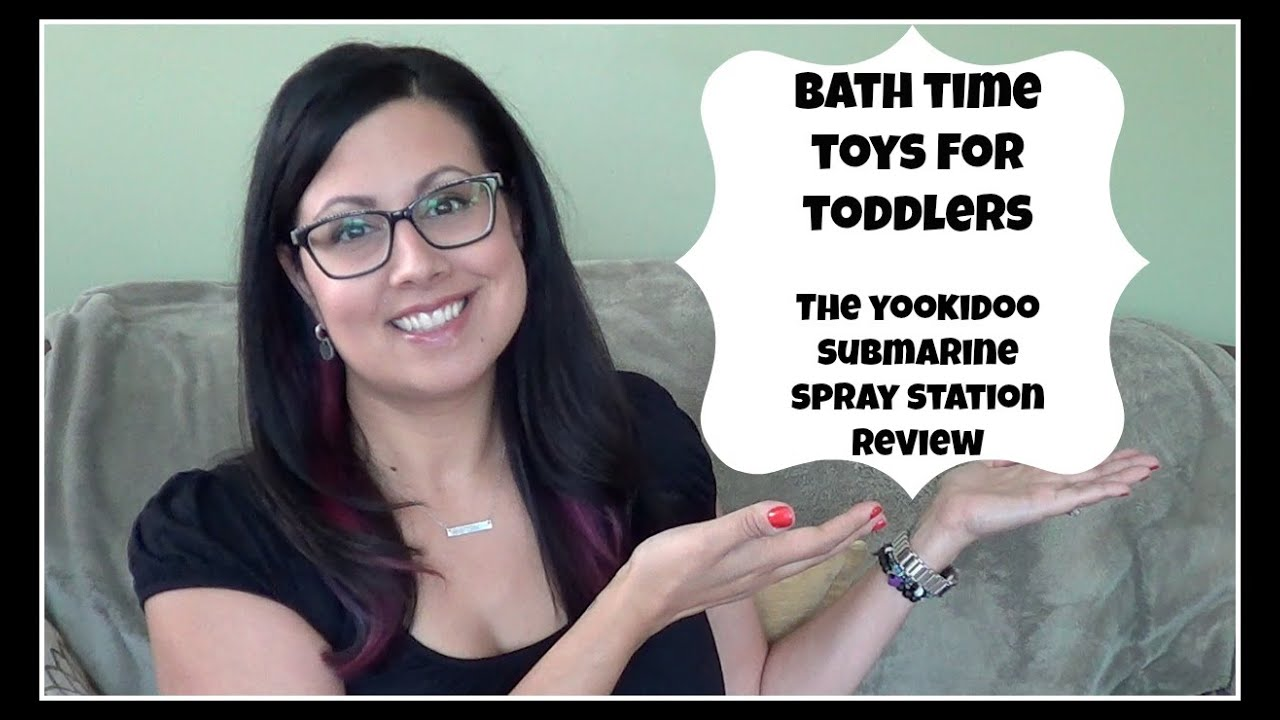 Bath Time Toys For Toddlers Yookidoo Submarine Spray
