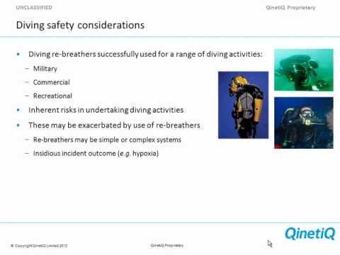 Pre Market Testing of Diving Rebreathers - Gavin Anthony - RF3