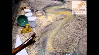 River erosion and deposition model