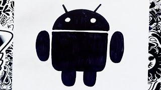 Como dibujar el logo de android | how to draw android logo