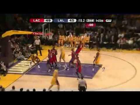 2008-09 NBA Season:Lakers VS Clippers 5-11-08 [HD]