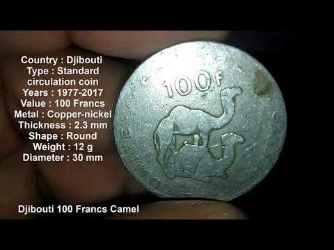 Djibouti 100 Francs Camel