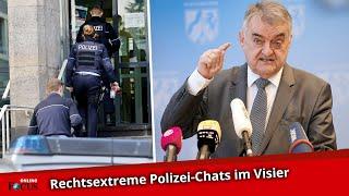 Nach Razzien in NRW: Reul rechnet mit suspendierten Polizisten ab