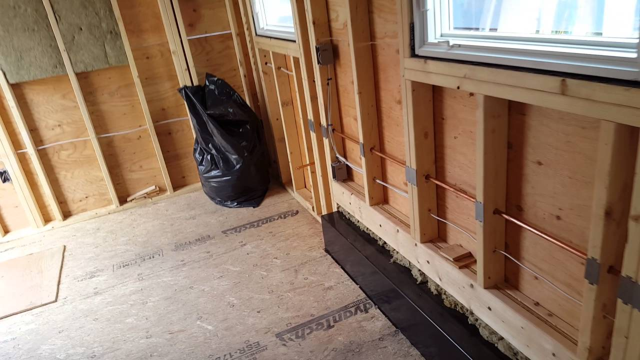 Tiny House Solar Metal Roof Gas Lines Electrical Youtube