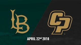 Cal Poly vs. Long Beach State, Baseball Highlights -- April 22, 2018