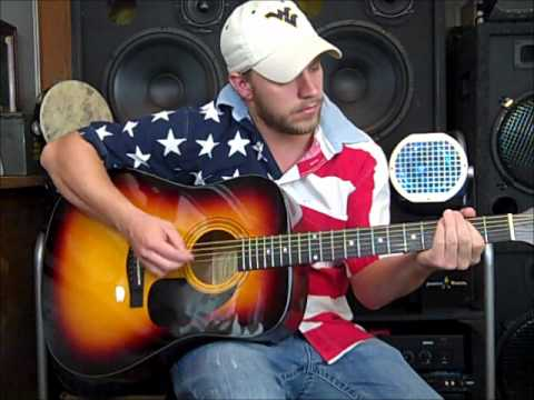 Courtesy Of The Red White And Blue Toby Keith Acoustic Cover By
