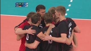 Men's Volleyball Preliminary - BRA v GER   London 2012 Olympics