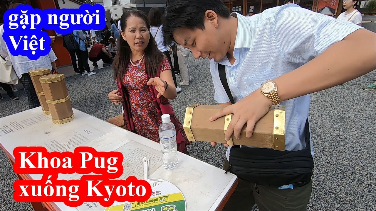 Bất ngờ cách người Nhật làm du lịch tâm linh – Khoa Pug bay 17 triệu ngày đầu tiên ở Kyoto
