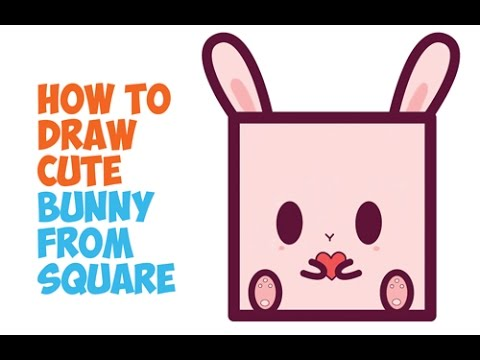 How to draw a cute bunny kawaii chibi baby cartoon rabbit how to draw a cute bunny kawaii chibi baby cartoon rabbit easy step by step easy for kids youtube ccuart Gallery