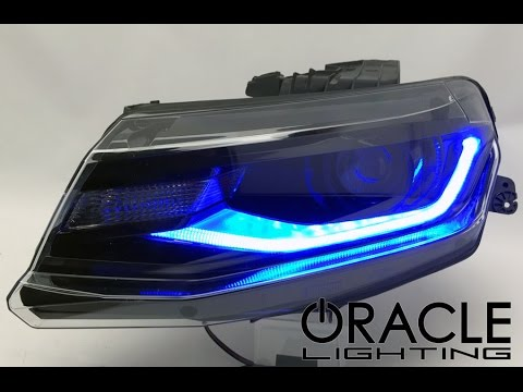 Oracle Lighting 6th Gen Camaro Colorshift Drl Youtube