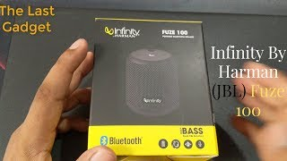 Infinity JBL Fuze 100 Unboxing & Review In Hindi, Deep Bass IPX7 Bluetooth Portable Wireless Speaker