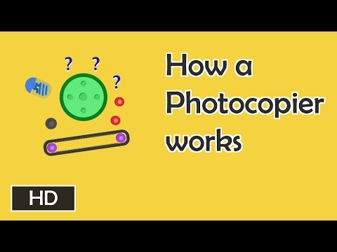 How photocopiers work