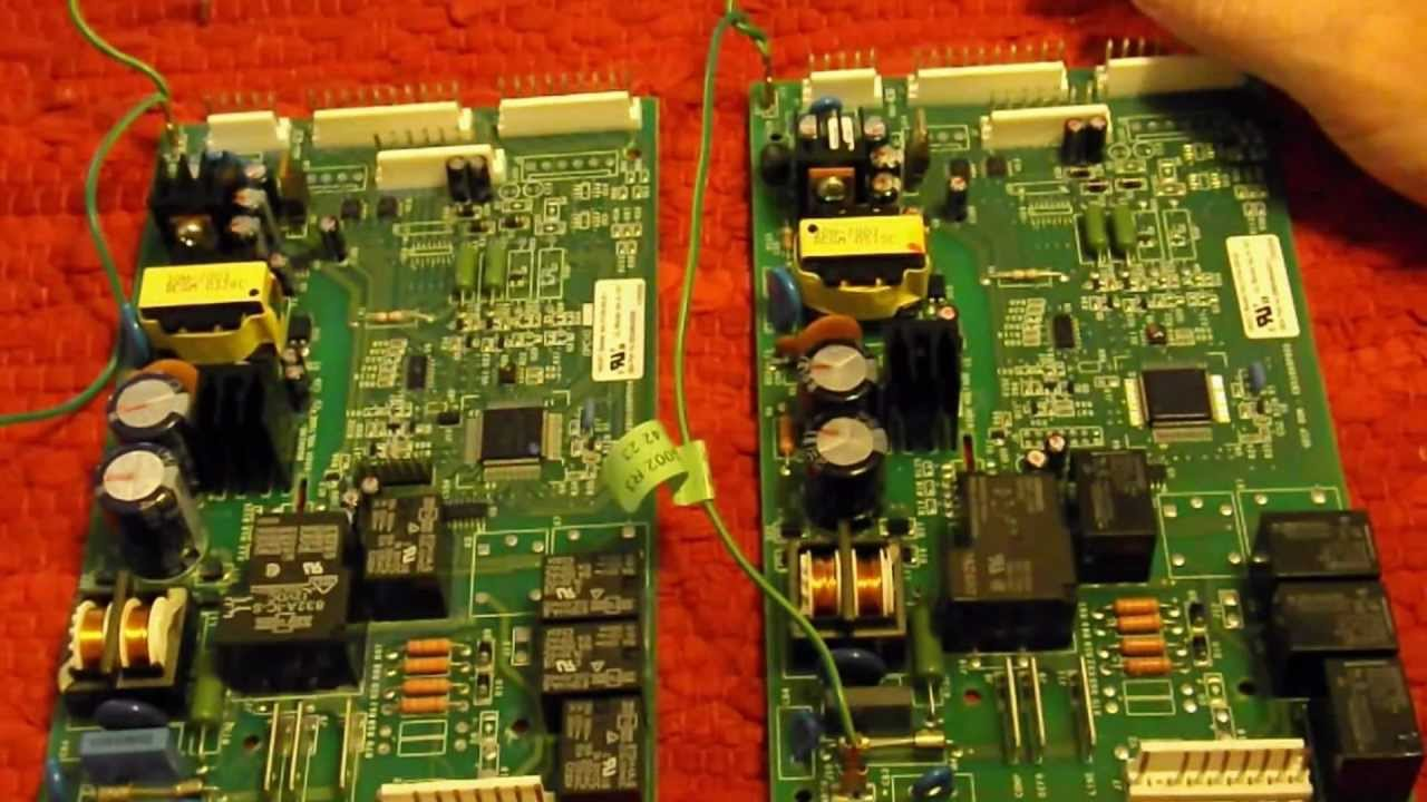 ge refrigerator motherboard wiring diagram [ 1280 x 720 Pixel ]