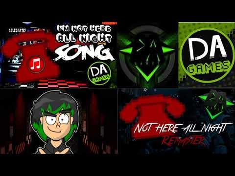 DAGames-Not Here All Night (Original Vs  Remaster)