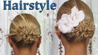 Cute Hairstyle /  Романтическая прическа от MixStyleCappuccino / Hairstyle