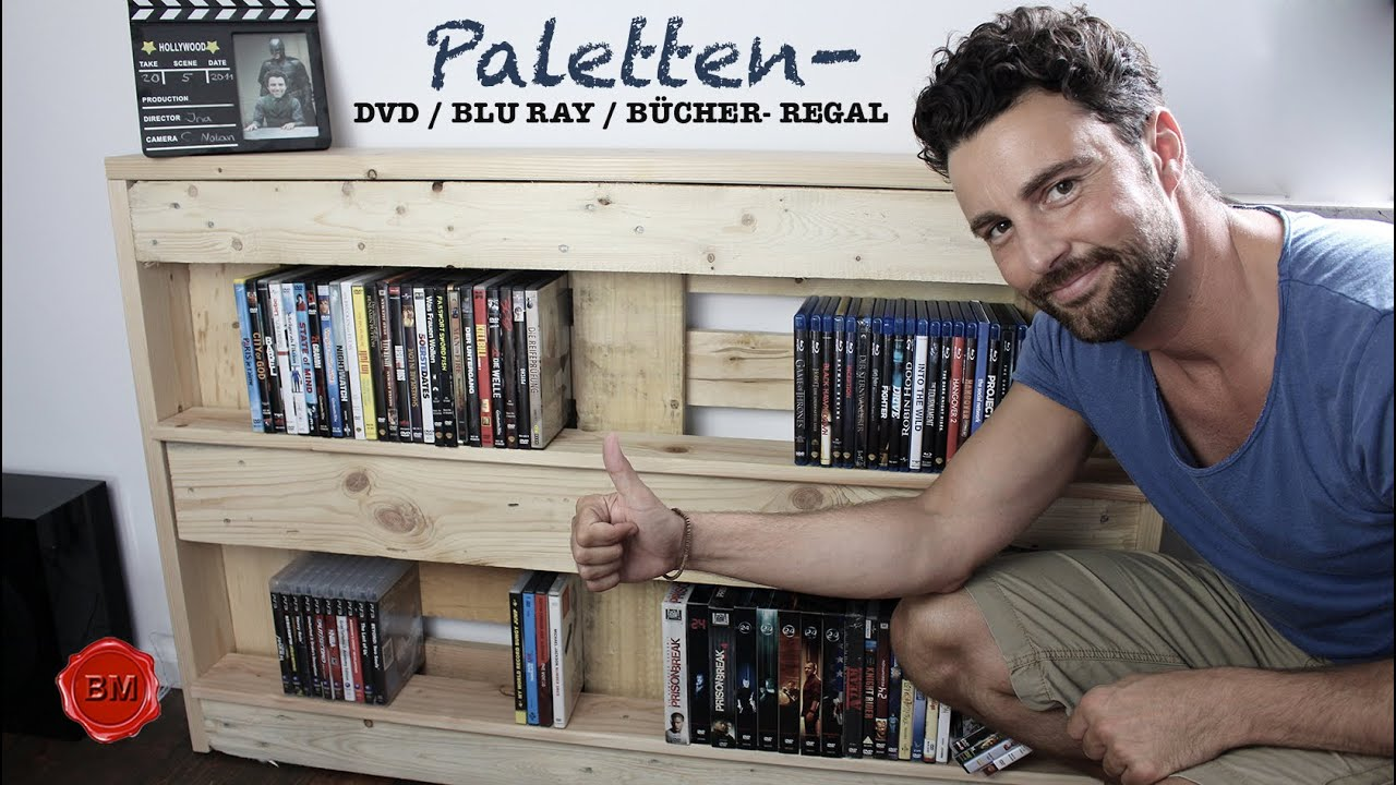 PALETTEN- DVD/BluRay/Bücher-Regal TUTORIAL I Ben\'s Mission - YouTube