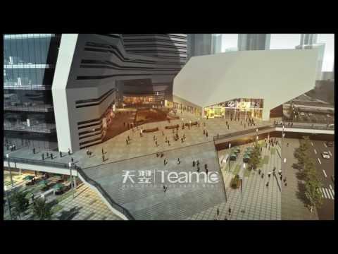 Team-E 3D animation sample 4 --- a convention center