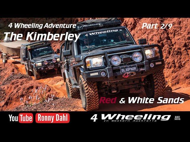 4 Wheeling Adventure The Kimberley, part 2/9