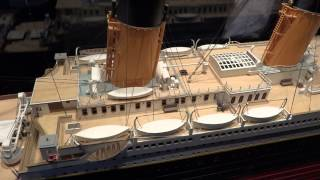 Titanic ship model