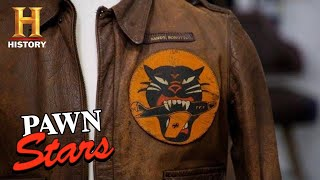 Pawn Stars: ONEOFAKIND WWII JACKET with MYSTERIOUS PATCH (Season 17) | History