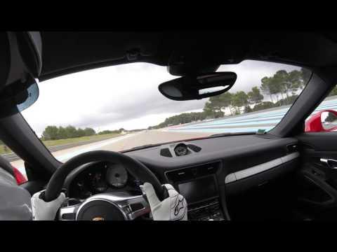 Circuit Paul Ricard Castellet 2016 :300 km/h en Porsche 991GT3