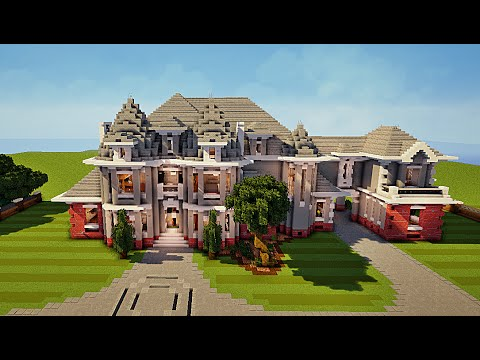 Minecraft maison traditionnelle par fahdqaiser youtube for Image maison moderne villa