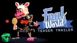 FNAF WORLD TEASER TRAILER - (Vídeo Reacción) | iTownGamePlay - Five Nights at Freddy's World