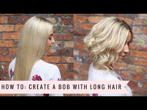 How To: Create a Faux Bob💛 by SweetHearts Hair