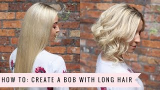 How To Create A Faux Bob By Sweethearts Hair Youtube