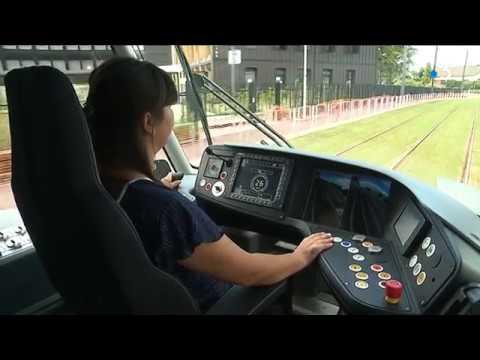Tramway de Caen : le point après 3 semaines d'exploitation - - France 3 Normandie