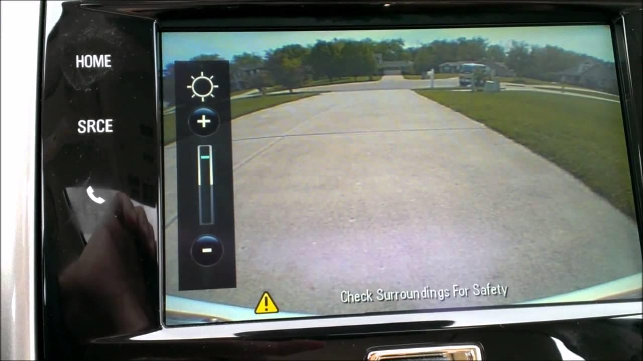 2014 Chevrolet Malibu 2LTZ Rear View Camera Brightness Adjustt ...