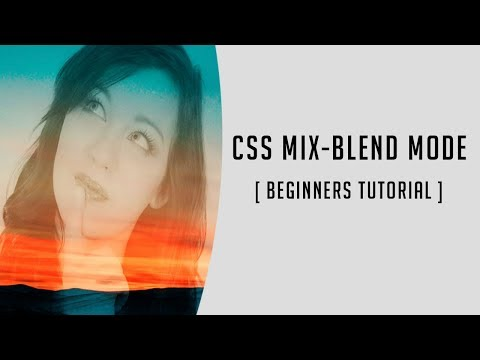 Image manipulation with CSS Mix blend mode | Quick CSS tutorial