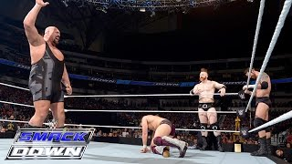 Six-Man Tag Team Match: SmackDown, April 9, 2015