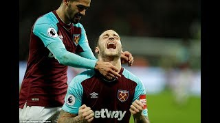 West Ham 2-1 West Brom: Andy Carroll scores terrific brace as Hammers stage second