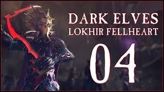 FINANCIAL PROBLEMS - Dark Elves: Lokhir Fellheart (Legendary) - Total War: WARHAMMER II - Ep.04!