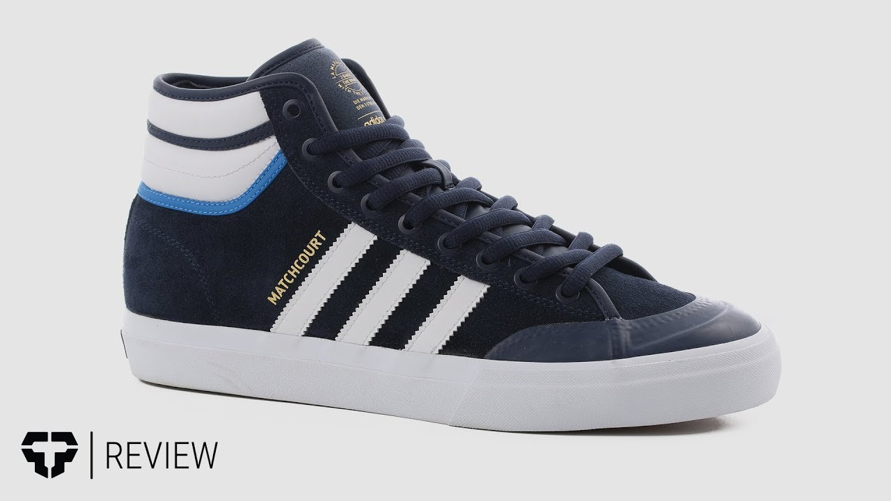 ce09e6624c Adidas Matchcourt High RX2 Top Ten Skate Shoes Review - Tactics.com ...
