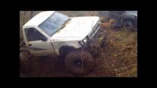 off-road toyota mutt truck farm trail part 2 of 2