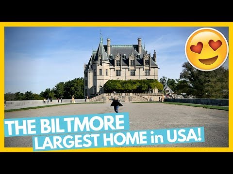 Touring The Largest House In America 😍 The Biltmore Estate 🏡 Full Time RV Family