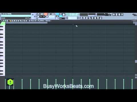 Southern Hip Hop TRAP using FL Studio Only